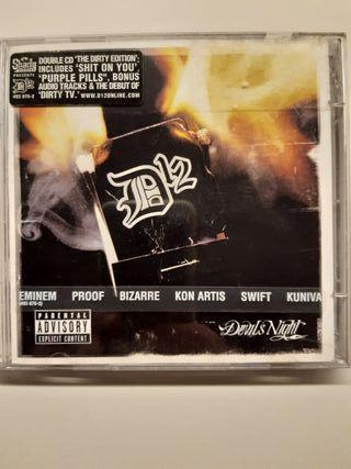 Cd D12 rap hip hop americano