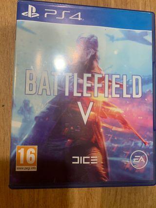 Ps4 battlelfield V