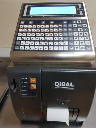 báscula etiquetadora DIBAL