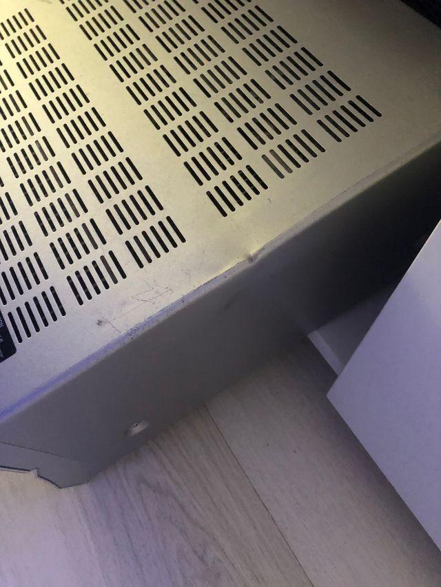 Altavoces bose , amplificador onkyo y soportes