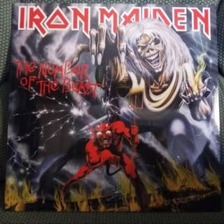 """Iron Maiden: """"The Number of the Beast"""" (LP-Vinilo)"""