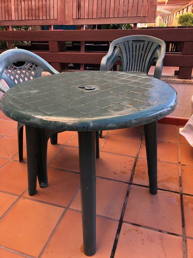 Mesa Jardin o terraza