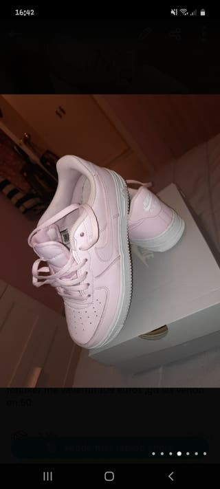 nike air force 1,rosas claritass