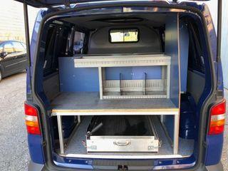 Mueble taller furgoneta Sortimo