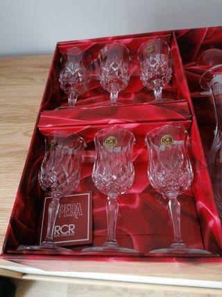 Conjunto Copas de Vino de Jerez