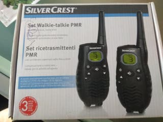 walkie talkie pmr de largo alcance
