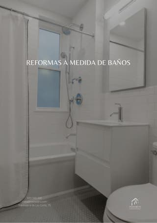 REFORMAS INTEGRALES DE BAÑOS.