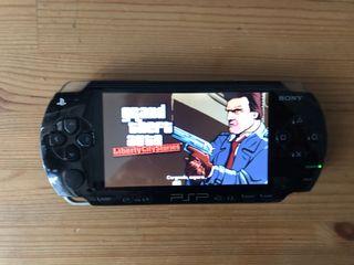 PSP + GTA Liberty City Stories