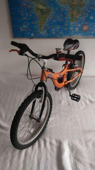 Bicicleta para niño Boomerang Zhafir 20 pulgadas