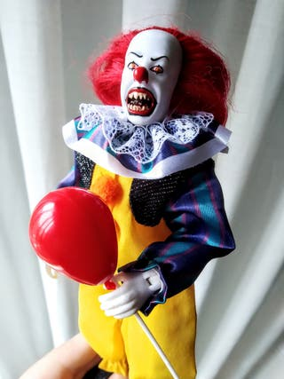 Figura retro Pennywise IT ORIGINAL Mego 20 cm