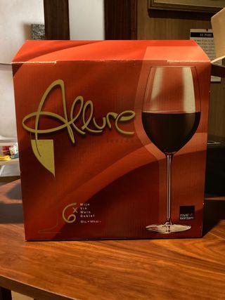 Lote copas de vino