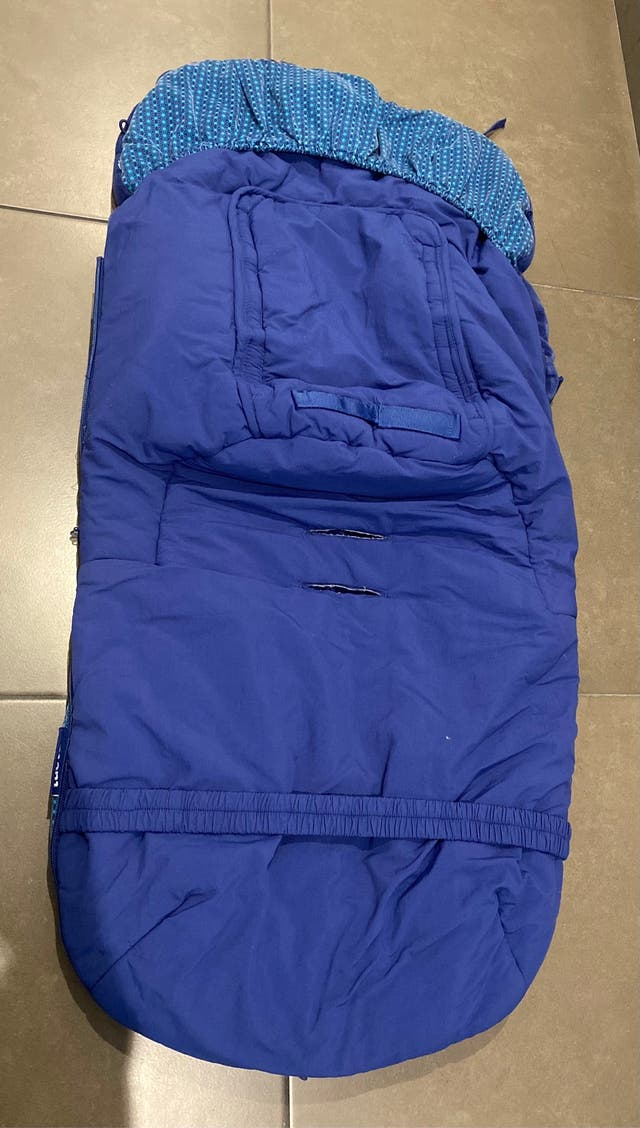 Saco silla invierno Kimono azul de Tuc Tuc
