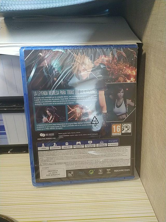 Nuevo precintado Final Fantasy Vii remake ps4 ps5