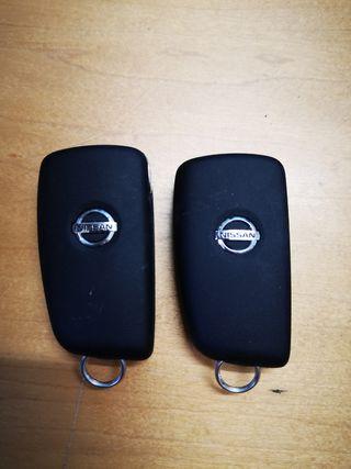Llaves originales Nissan estrenar