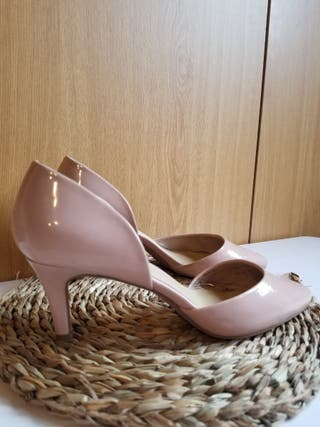 Sandalia rosa palo