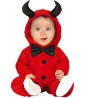 Disfraz bebé diablo demonio