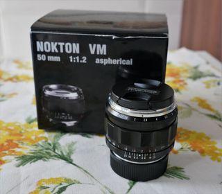 Voigtlander nokton 50mm f1.2 vm Leica m