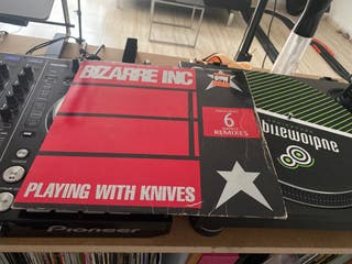 Vinilo House Bizarre inc Playing with knives