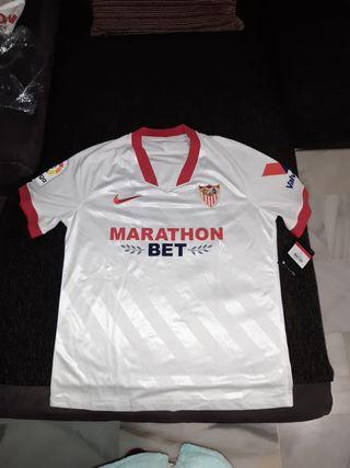 Camiseta Sevilla F. C, temporada 20/21