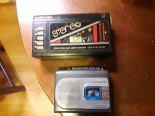 VENDO 2 GRABADORAS CON RADIO.