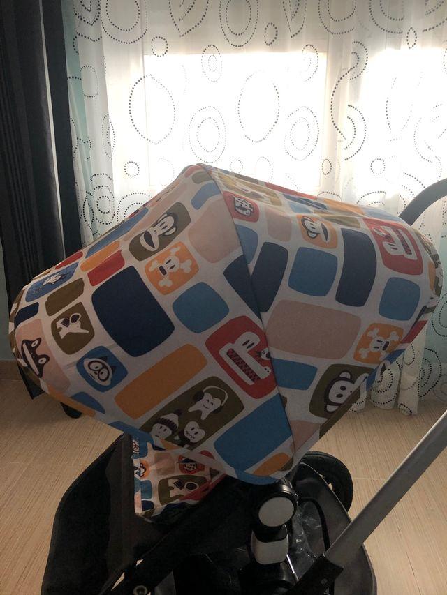 Capota y funda silla paul frank para bugaboo