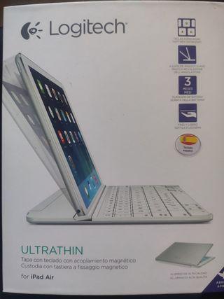 teclado ipad air apple Logitech ultrathin
