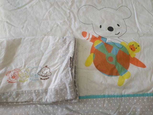 Colcha Imaginarium y funda de almohada