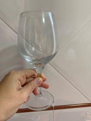 Juego 10 copas de vino