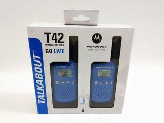 Walkie Talkies Motorola T42 E 106017