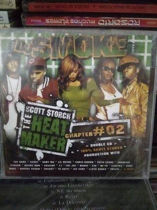 DJ SMOKE DOBLE CD PRECITADO HIP HOP