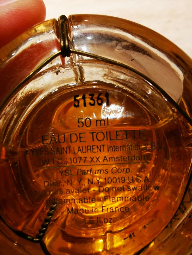 Perfume Champagne Yves Saint Laurent