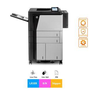 Impresora HP LaserJet Enterprise M806x+ B/N 56ppm
