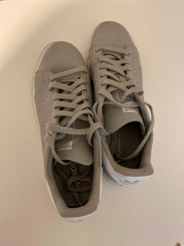 Zapatillas Adidas Stan Smith Grises