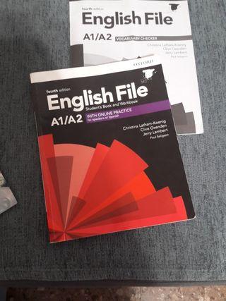 libros oficiales de inglés de nivel A1 y A2