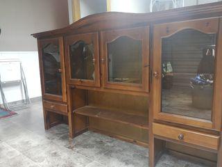 Parte superior mueble madera