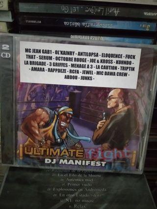 DJ MANIFEST HIP HOP PRECINTADO DOBLE CD