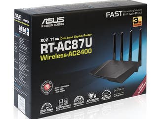 ASUS RT-AC87U - Router inalámbrico Dual-Band AC240