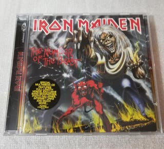 CD Música Iron Maiden-The Number of the Beast.