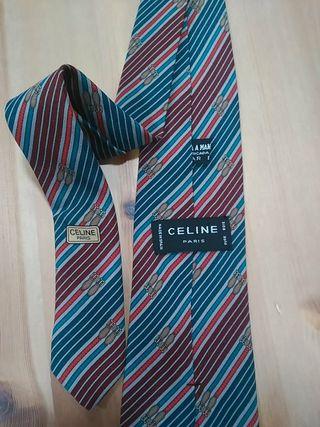 corbata Celine seda
