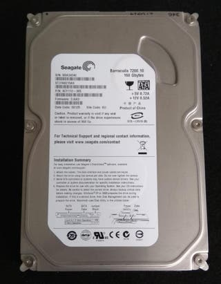 Disco duro 3,5 Seagate 160Gb