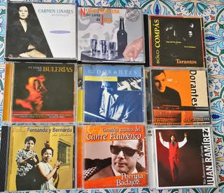 Lote CDs música Flamenco