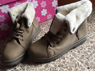 Zapatos invierno pelo