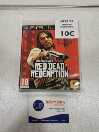 Videojuego Red Dead Redemption / PS3