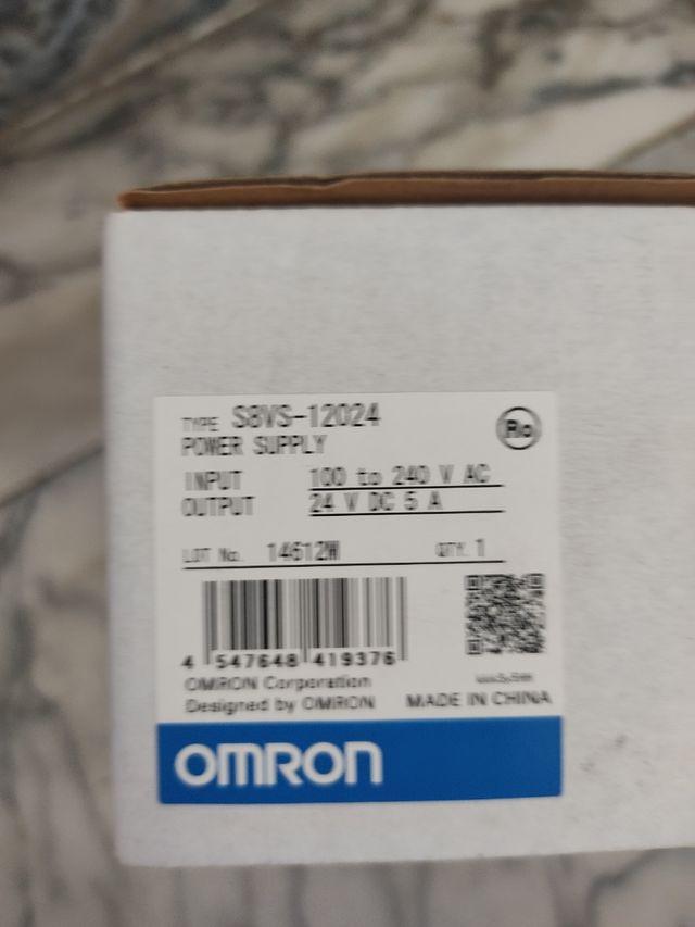 fuente de alimentación Omron