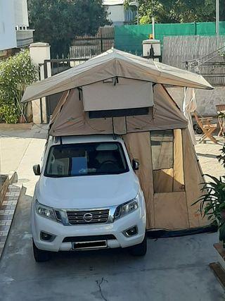 tienda para techo de coche