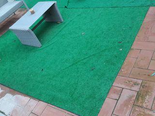 cesped artificial pasto terraza