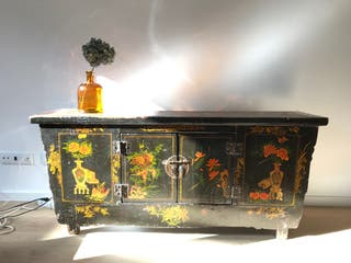 Mueble aparador antiguo chino