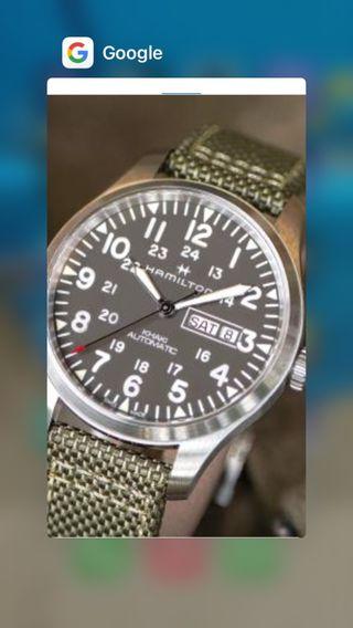 Reloj Hamilton militar automatico