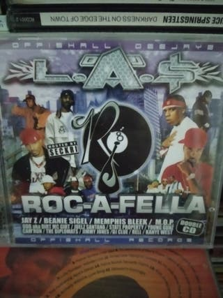 L.A.S ROC-A-FELLA 2CDS , HIP HOP PRECINTADO