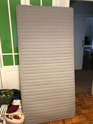 COLCHÓN MUELLES IKEA 185x90 cm